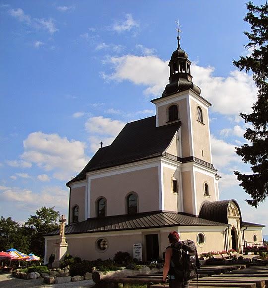 """Sanktuarium Matki Bożej Przyczyny Naszej Radości """"Maria Śnieżna""""."""