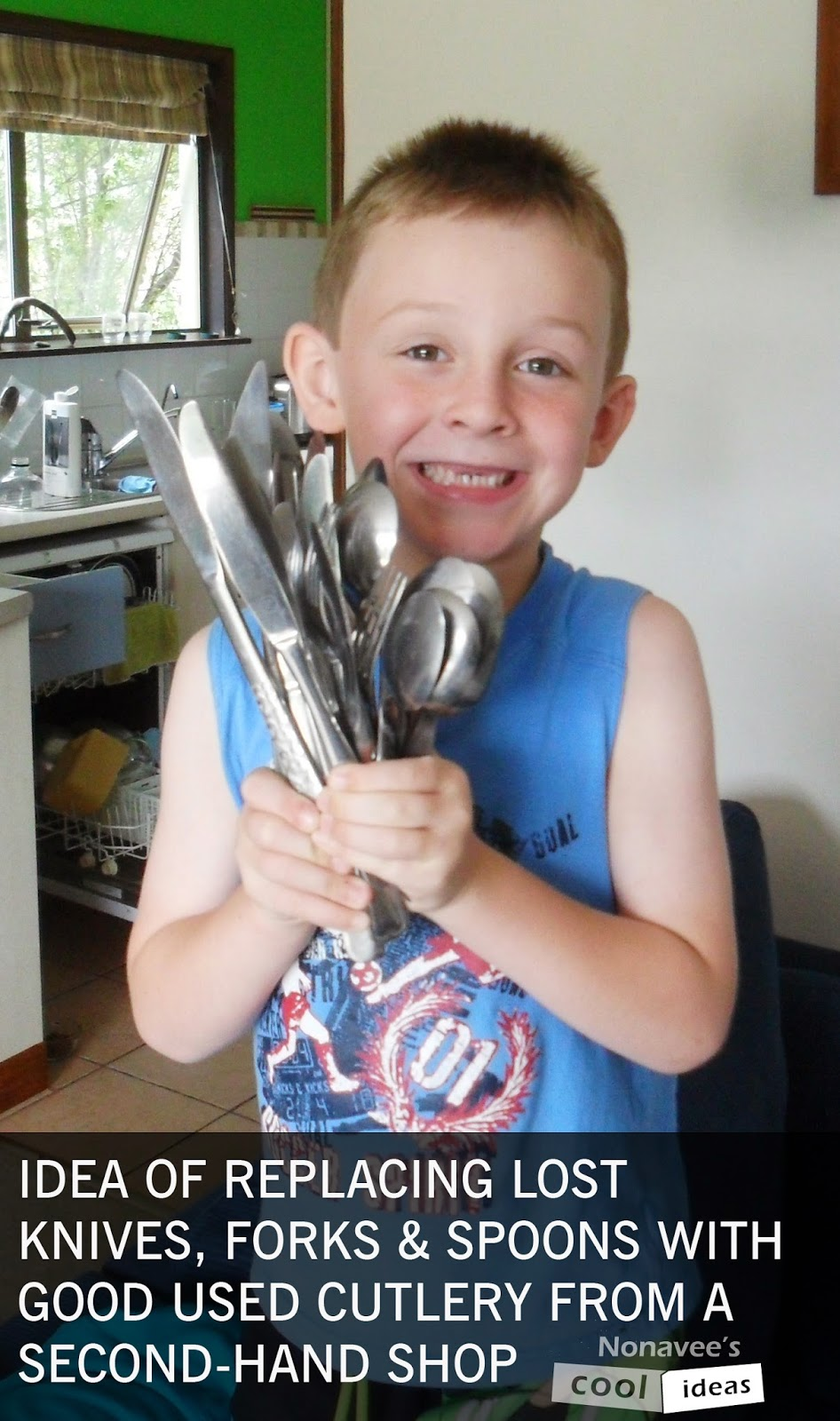 Nonnies Blog Idea of replacing lost knives forks and