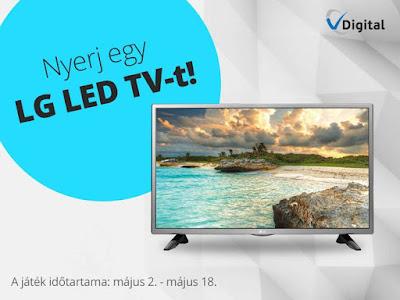 LG LED TV VDigital Nyereményjáték