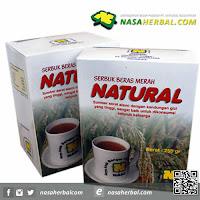 Serbuk Beras Merah Natural