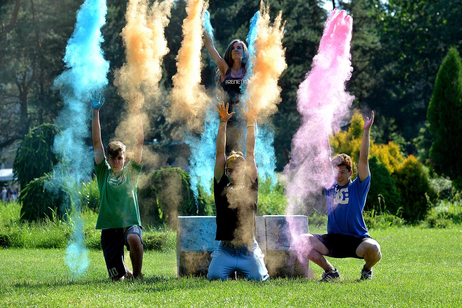 Nikon škola: farbám neujdeš & športová fotka
