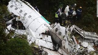Chapecoense football team plane crash