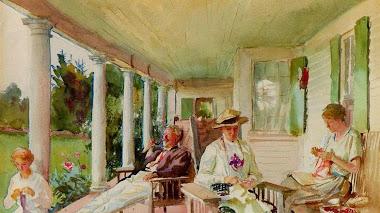 Impresionismo americano. Retratos al aire libre y Sargent