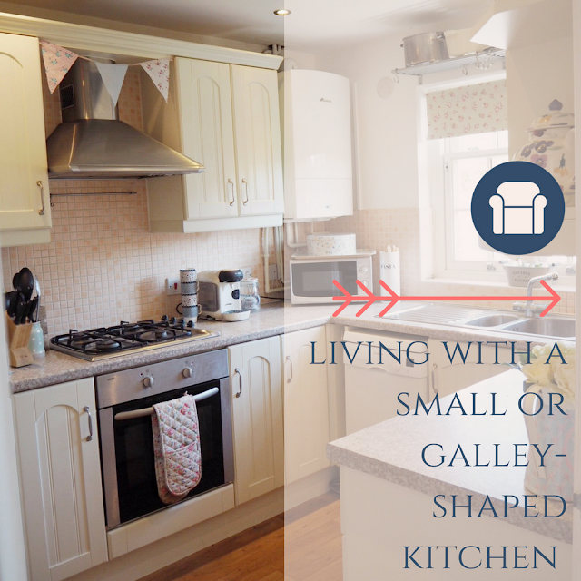 Tips for living with a small or galley shaped kitchen