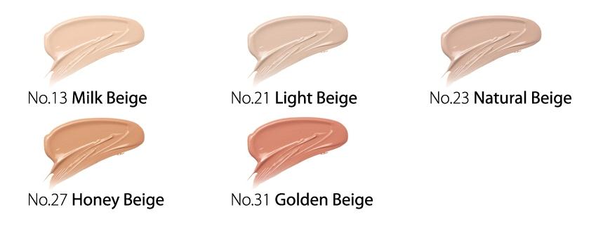 missha perfect cover bb cream shades