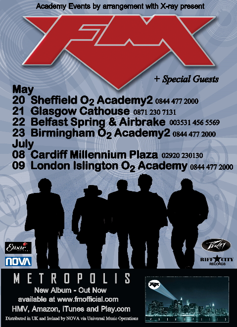 FM May July 2010 Tour Ad