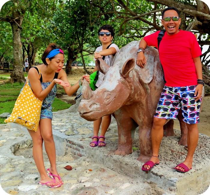 Badak Jawa di Tanjung Lesung Beach Club
