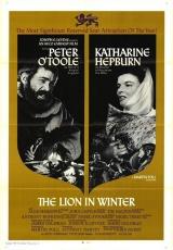 """Carátula del DVD: """"El león en invierno"""""""