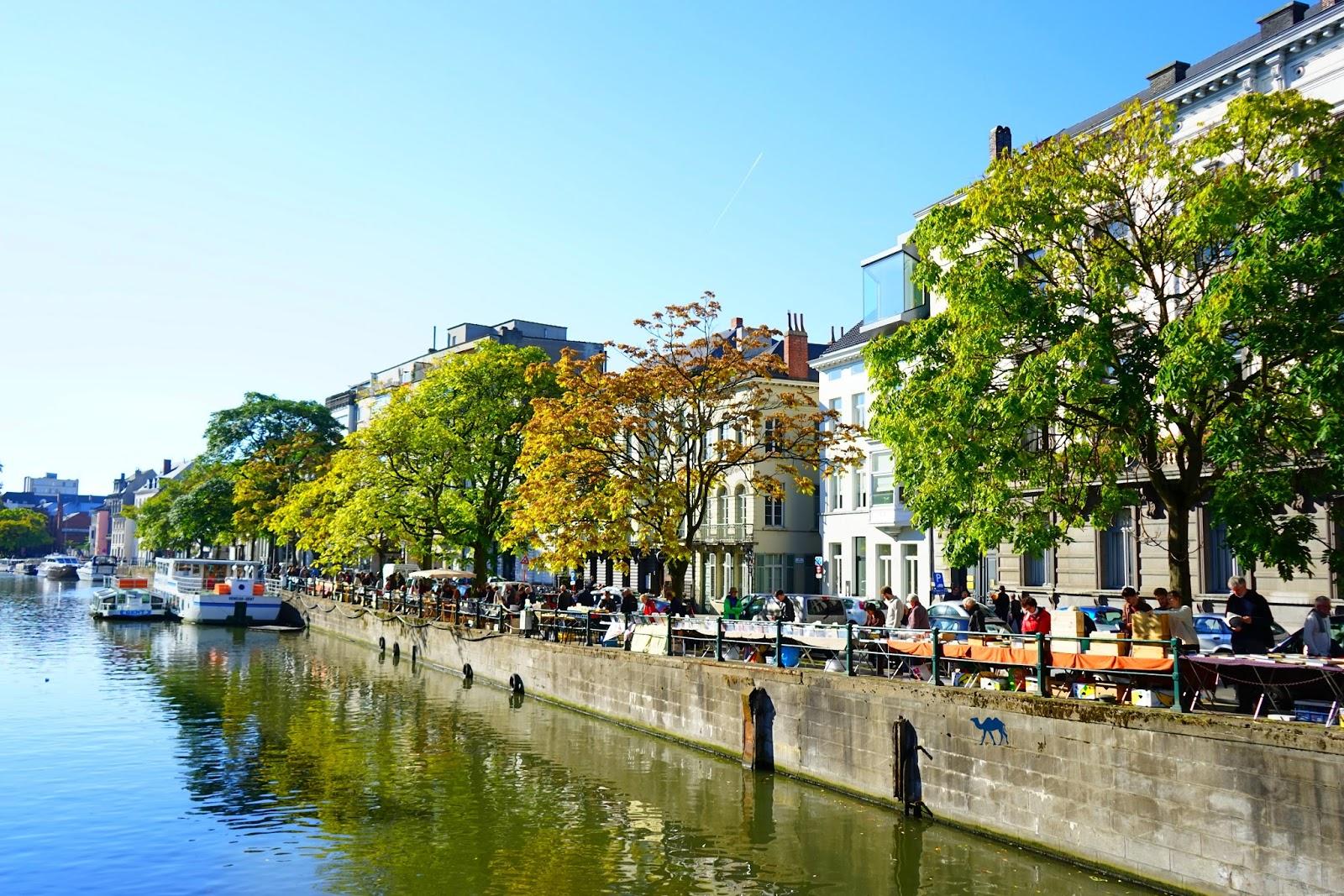 Le Chameau Bleu  - Canaux de Gand Belgique - Week end à Gand