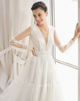 Vestidos de Novia Rosa Clara 2019