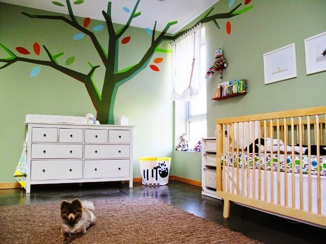 wall colors for unisex nursery
