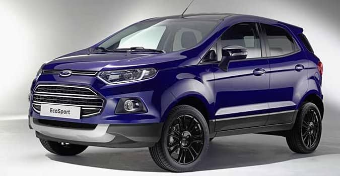 Ford Ecosport Facelift With Feature Upgrades Revealed