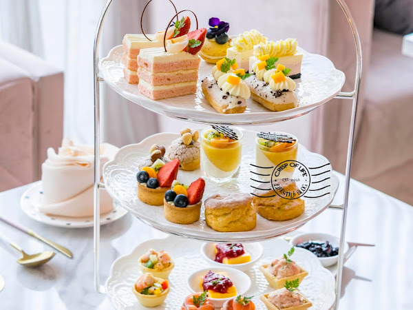 Crumbles & Cream High Tea Set & Newly Launched Ala Carte Menu @ Iconic Hotel, Penang