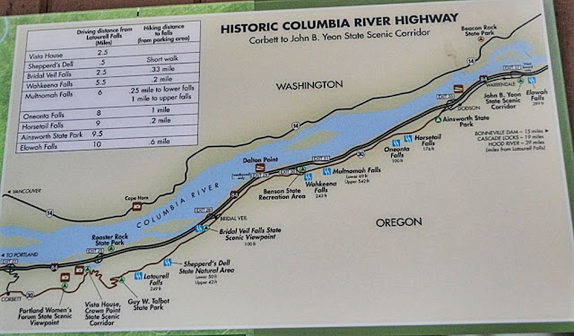 Historic Columbia River Scenic Byway Map