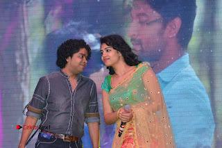 Singer Manisha Eeraini Stills in Half Saree at Nenu Local Audio Launch  0009.JPG