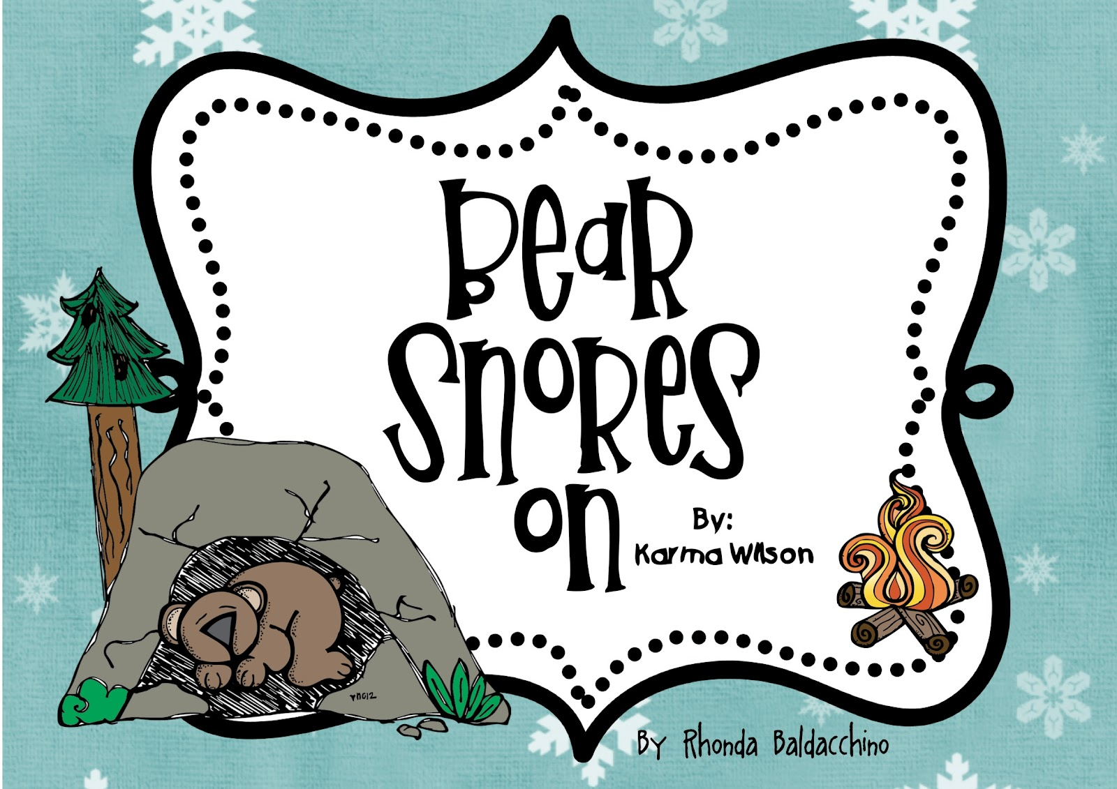 Classroom Fun Bear Snores On Activities
