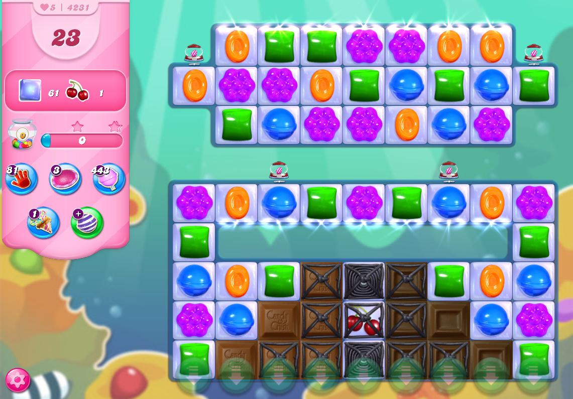 Candy Crush Saga level 4231
