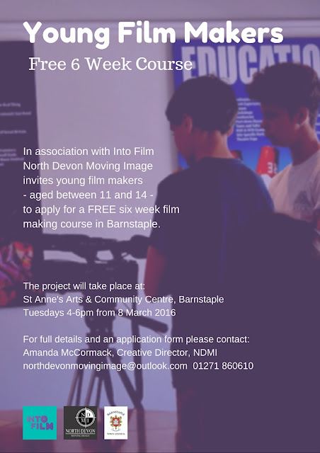 Young film makers course at Barnstaple