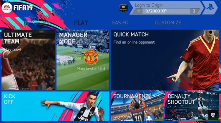FIFA 14 Mod FIFA 19 Android PS4 Camera Download | FTS Texture