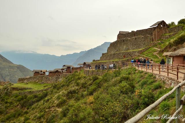 Site inca de Pisaq, Vallée Sacrée, Pérou