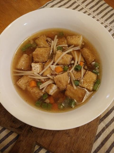 Tofu Pork Noodle Soup