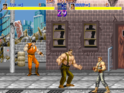 Videojuego Final Fight