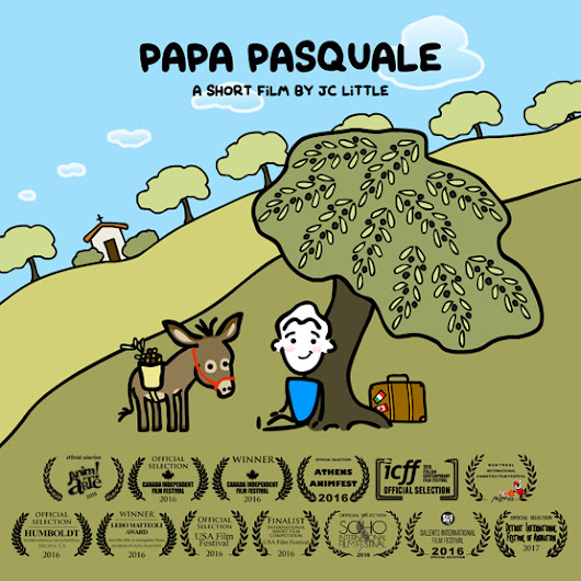 """Papa Pasquale"" - Awards and Official Selections."