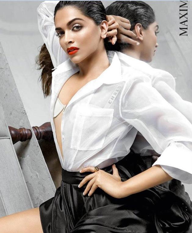 Deepika Padukone Spicy Stills for Maxim Magazine June 2017