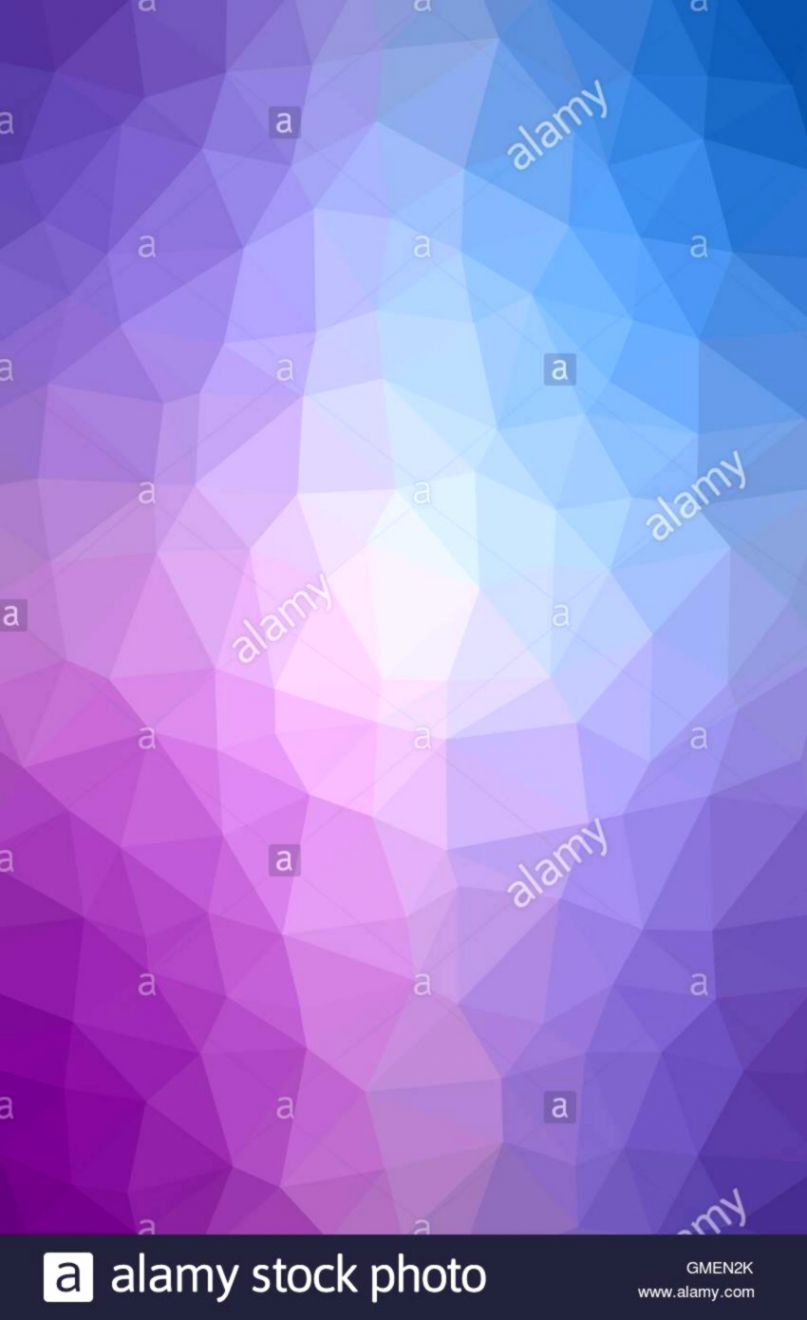 Geometric tile mosaic with purple and blue triangles Abstract