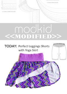 Modkid Perfect Leggings with Yoga Skirt