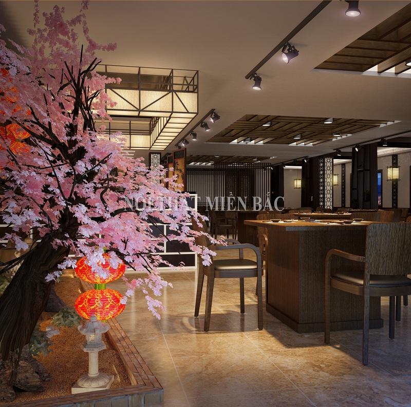 Thiết kế nhà hàng chuyên nghiệp phong cách Hàn Quốc