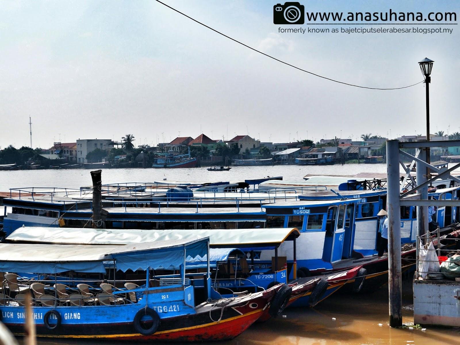 Tempat Menarik di Vietnam : Menyusuri Delta Mekong