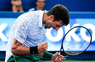 Tay vợt Novak Djokovic