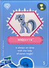 My Little Pony Wave 4 Minuette Blind Bag Card