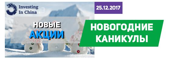 В хайпе chininvest.com объявили новогодние каникулы
