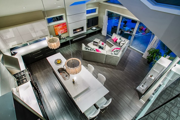 Kitchen in Contemporary home by Trevor Euley in Canada