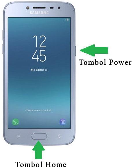 Cara Screenshot Samsung J2 Pro, mengambil tangkapan layar Samsung J2 Pro