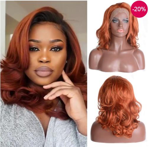 wig natural wavy
