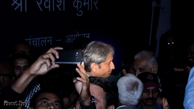 Ravish Kumar Photo (c) Bharat Tiwari