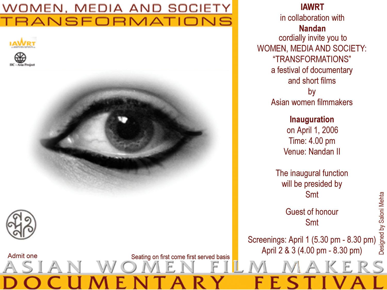 South Asian Women Film Makers 94