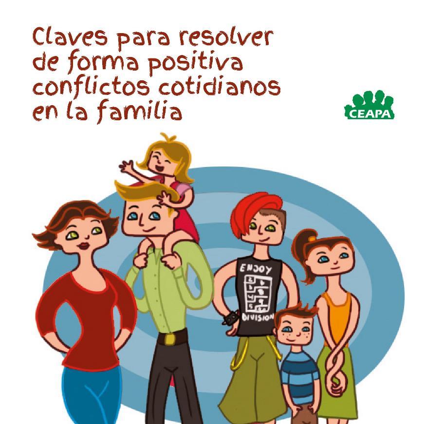 Claves para resolver de forma positiva conflictos cotidianos en la familia – Comic