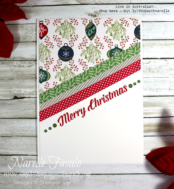 Make patterned paper the hero of your quick and easy cards. See our full range here - http://bit.ly/DesignerSeriesPaper