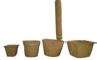 Coir pots Coir sticks Ahmedabad