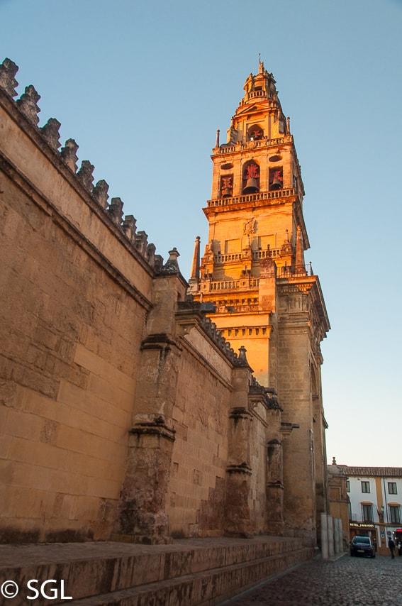 Torre campanario Mezquita-Catedral. Recorrido fotografico por Cordoba