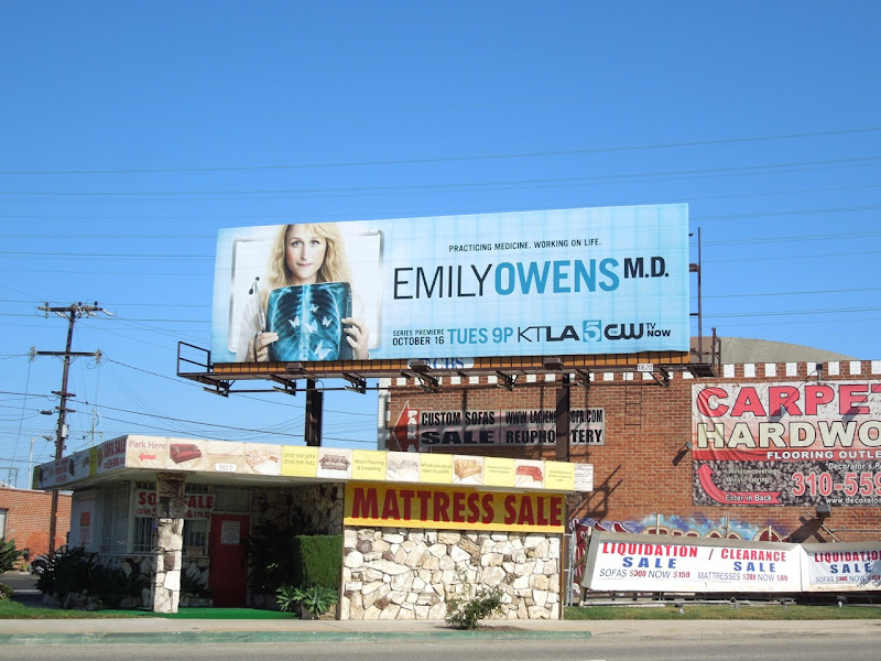 Emily Owens MD season 1 billboard