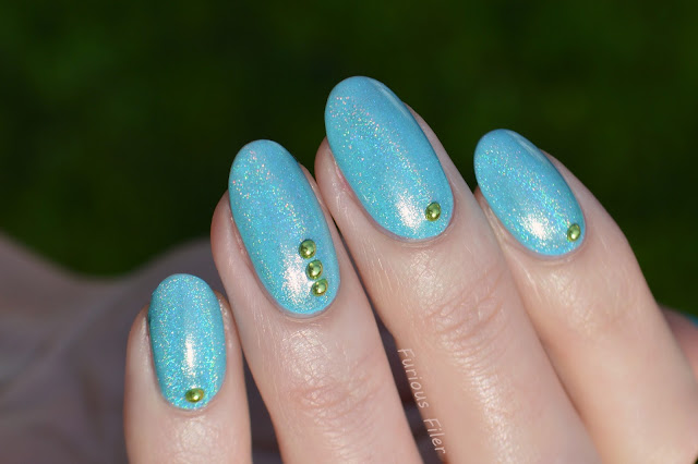 rhinestones bps metallic holo fun lacquer top coat