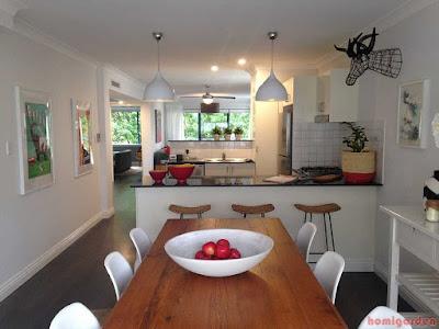 Apartment, Interior, Contemporary Dining Room
