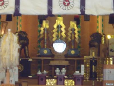 露天神社拝殿