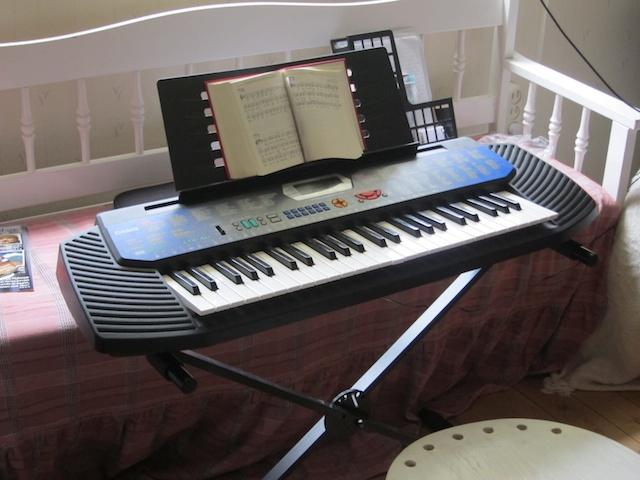 lära sig spela keyboard