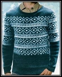 mujskoi pulover spicami s jakkardovim uzorom (14)